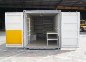 Складской блок-контейнер