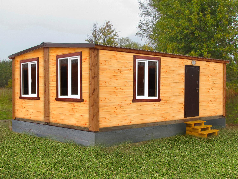 Каркасные модульные дома-бани