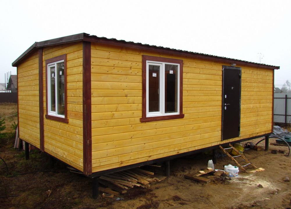 Каркасные мобильные и модульные дома и бани
