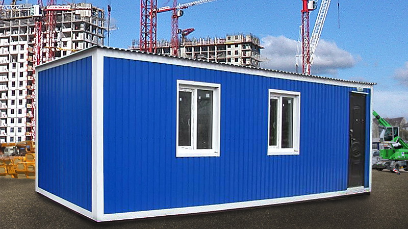 Блок-контейнеры и модульные здания