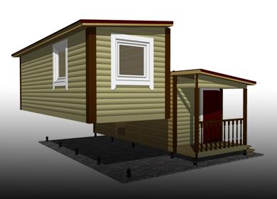 Модульные дома и бани