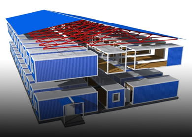 Модульные здания и сооружения